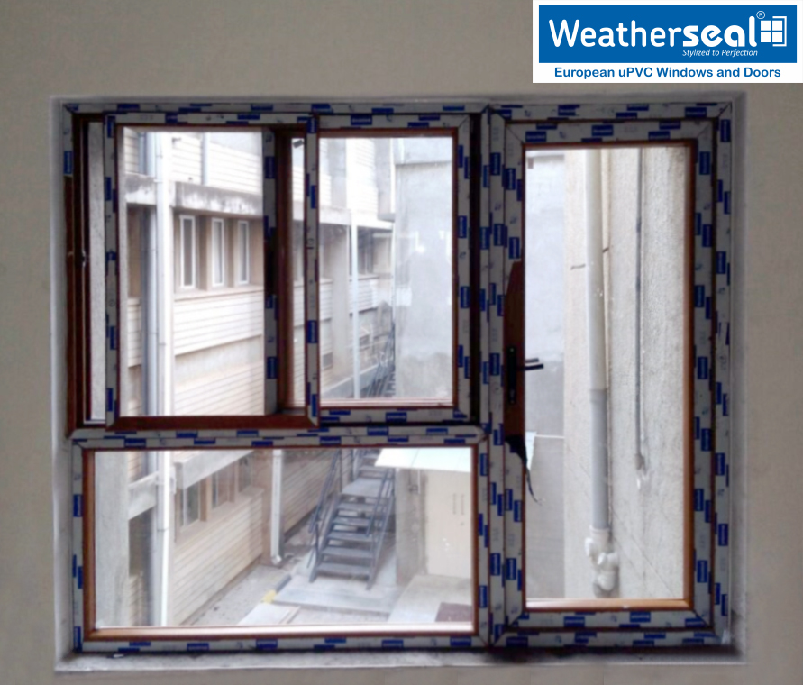 Weatherseal uPVC doors