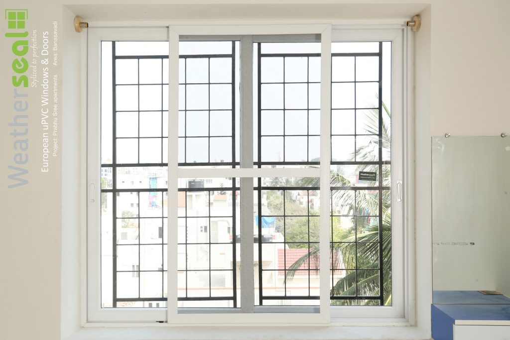 Types of uPVC windows
