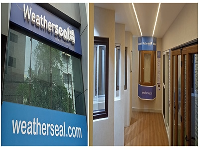 uPVC windows Hyderabad | Weatherseal experience showroom | window and doors