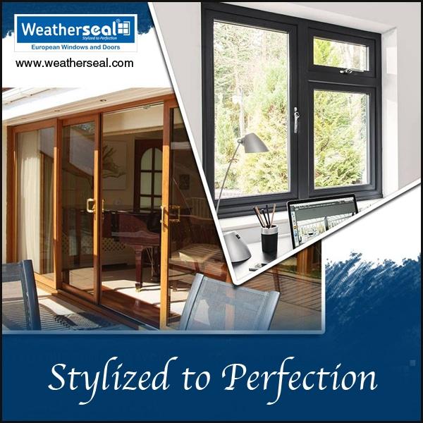 Wooden Profile uPVC Windows Kannur Styles