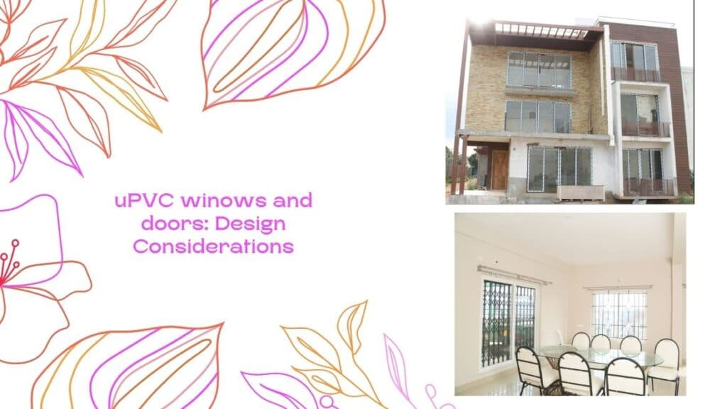 uPVC Windows and Doors Design Considerations